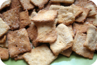 homemade wheat thins!